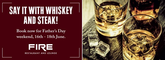 Say it with Whiskey and steak - Father's Day