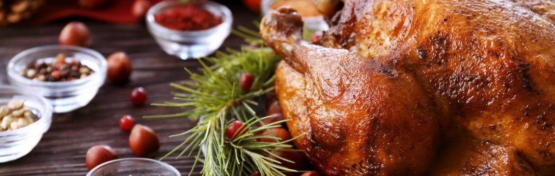 Turkey and Ham Boxty Pie